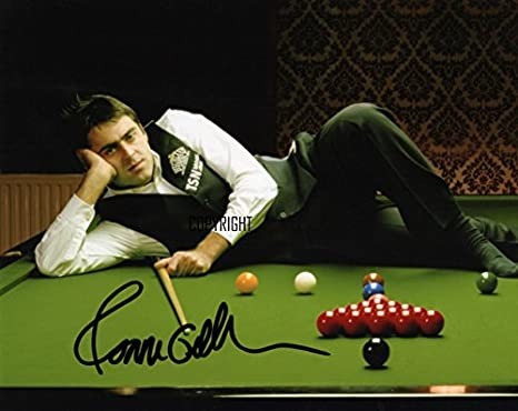 HWC Trading Ronnie OSullivan Gift Signed A4 Printed Autograph Snooker Gifts Photo Display