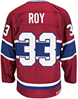 Patrick Roy Montreal Canadiens CCM Premier Throwback Jersey - Red