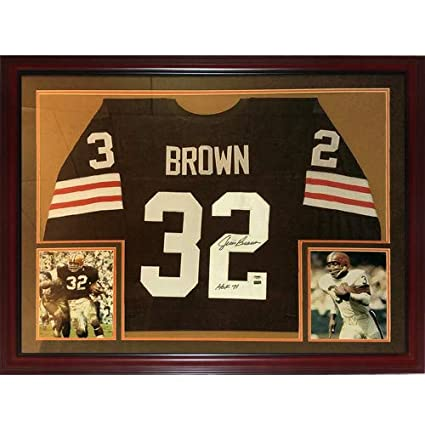 Image Unavailable. Image not available for. Color  Jim Brown Autographed  Signed Auto Cleveland Browns ... 45ce2b42b