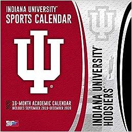 Indiana University 2020 Calendar Indiana Hoosiers 2020 Calendar: Inc. Lang Companies: 0841622134175