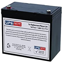 Bosfa GB12-50 12V 50Ah T17 Terminals Sealed Lead Acid Battery Replacement - VRLA Battery