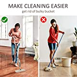 Microfiber Spray Mop for Floor Cleaning, Dry Wet