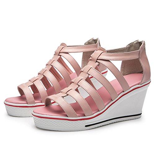 Collo A Bianco Donna 36 5 Pink Kivors Alto qRx5nH