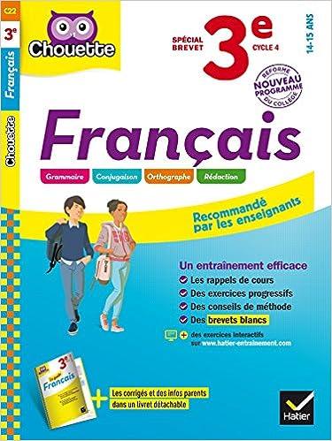 cHODENTK: Exercice Entrainement Brevet Blanc Français