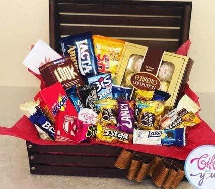 Cesta de chocolates - AIG