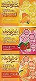 Emergen-c Vitamin C 1000mg 90 Packets 3 Variety Cartons NET Wt 29.1 ounce (828g)- Pack of 2 JeQ%C