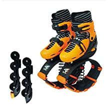 Bounceblade Rollerblade Hybrid Fitness Shoe orange fits EURO 35-38, kids 3.5-6, women's 4-7