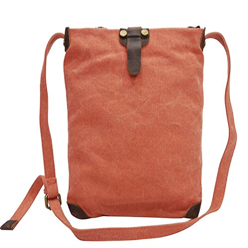 Orange Crossbody Purse Pockets Organizer Cell Functional Bag Women Phone Multi Zaxw7zzqF
