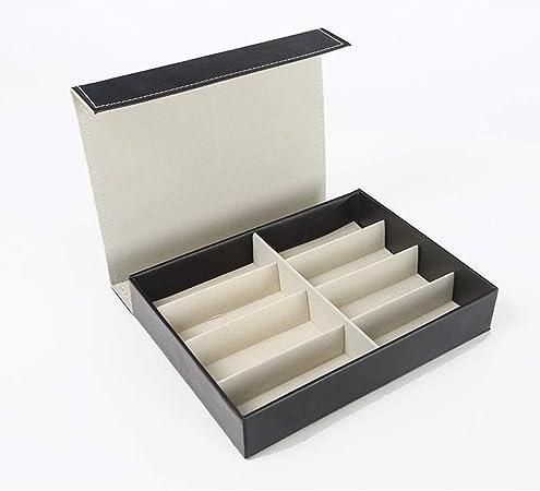Caja de almacenamiento de gafas Gafas Gafas Vitrina, Organizador de relojes de joyería, Gafas de sol