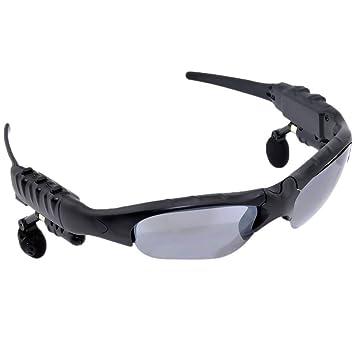 Seguridad inalámbrica Bluetooth MP3 gafas de sol auriculares para teléfono móvil mobille