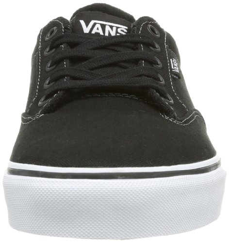 Baskets Winston Homme Vans black Noir white Mode M EOAxUgq