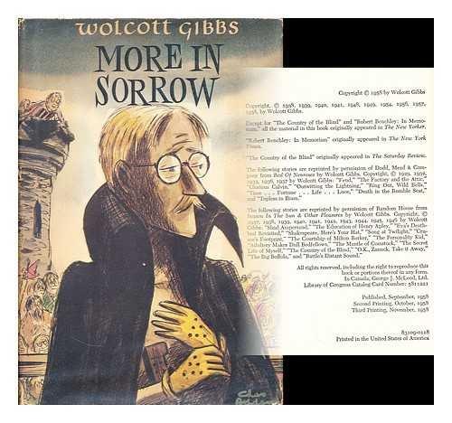 More In Sorrow by Wolcott Gibbs