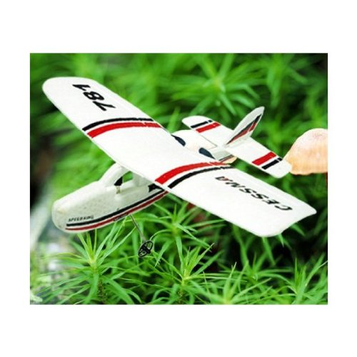 Cessna 781 Infrared RC Airplane Micro 2CH Flight Remote Control Cub Plane RTF (Color may vary)