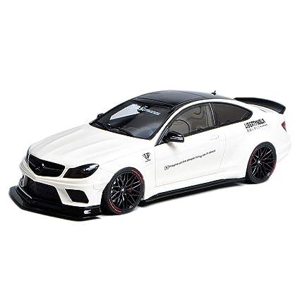 Amazon com: GAOQUN-TOY 1:18 Mercedes-Benz C63 AMG LB Wide
