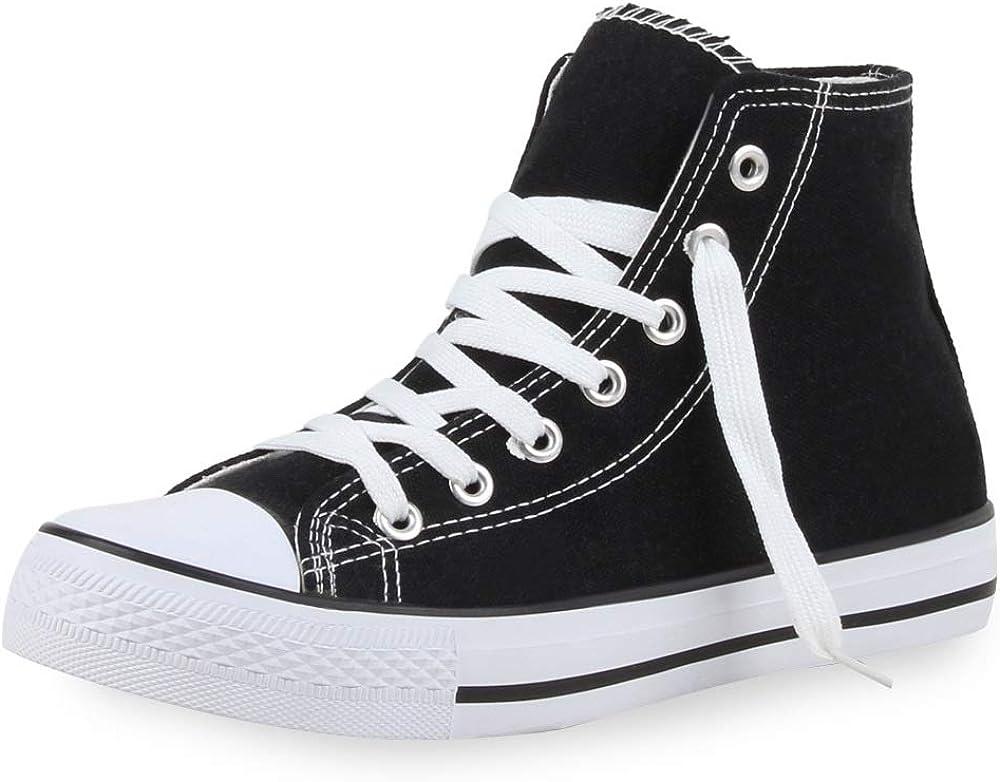 WS Shoes Baskets Femmes Hautes Mod/èle Toile