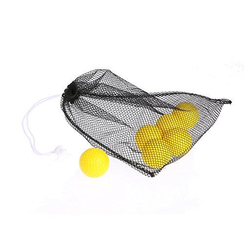 メトリック磨かれた崖k-outdoor ゴルフボール入れ ボールケース ボール袋 メッシュ 卓球/ゴルフ/テニスボール用 40こまで収納可能