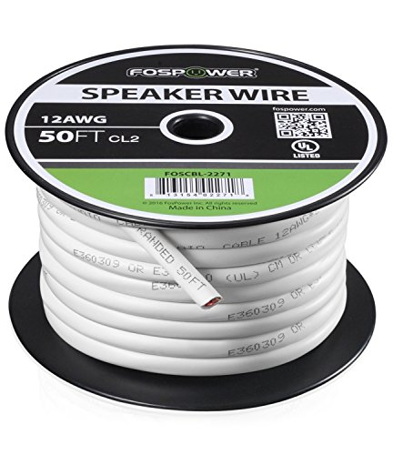 50' 14 Awg Speaker Wire - 8