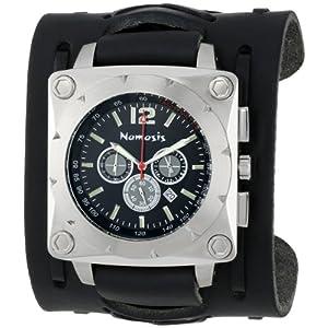 Nemesis Men's LBB085K Stainless Steel Tachymeter Watch