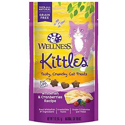 Cat Food Wellness Kittles Crunchy Natural Grain Free Cat Treats [tag]
