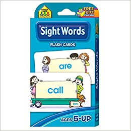 Printables Flash Card Of Words sight words flash cards 0689752835650 amazon com books