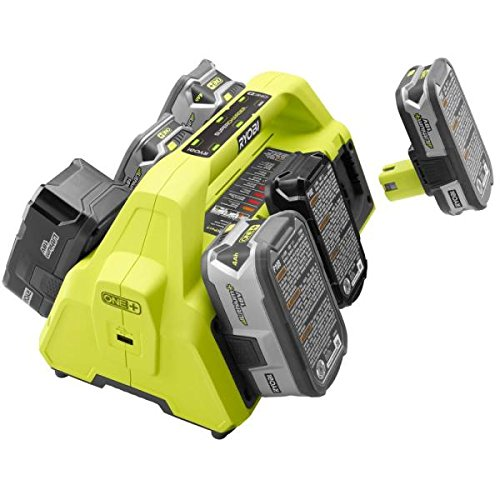 Ryobi 18-Volt ONE+ SuperCharger and 2 Lithium-Ion Batteries Kit (Ryobi One Multi)