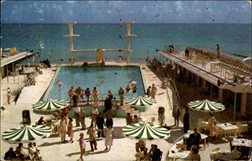 The Sorrento Miami Beach, Florida Original Vintage Postcard (Post Sorrento)