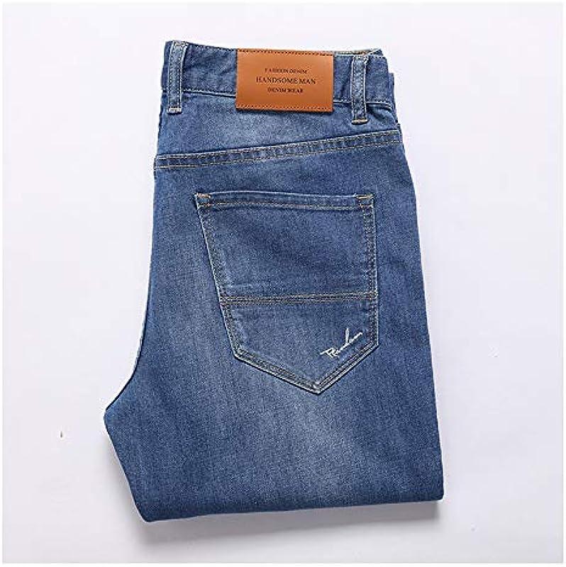 Sunl 2020 Spring Slim Stretch Long dżinsy męskie: Odzież