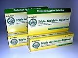 Dr. Sheffields Triple Antibiotic Ointment Bundle of TWO .33 Oz Tubes