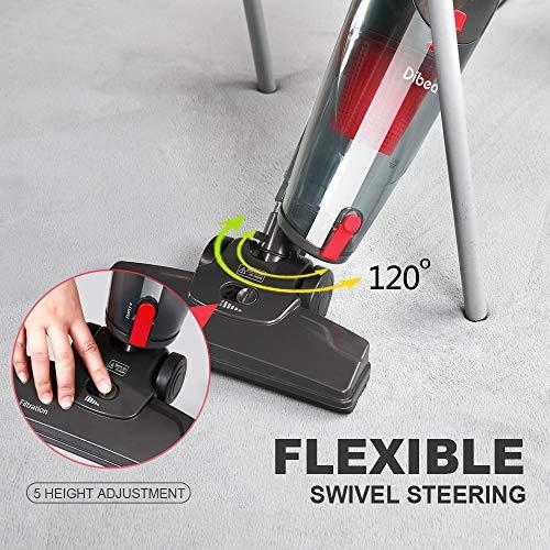 Dibea Stick Vacuum Cleaner 2 in 1 Corded...