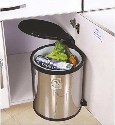 Tirez Ouverture Automatique Kitchen Poubelle Sous Evier Finition
