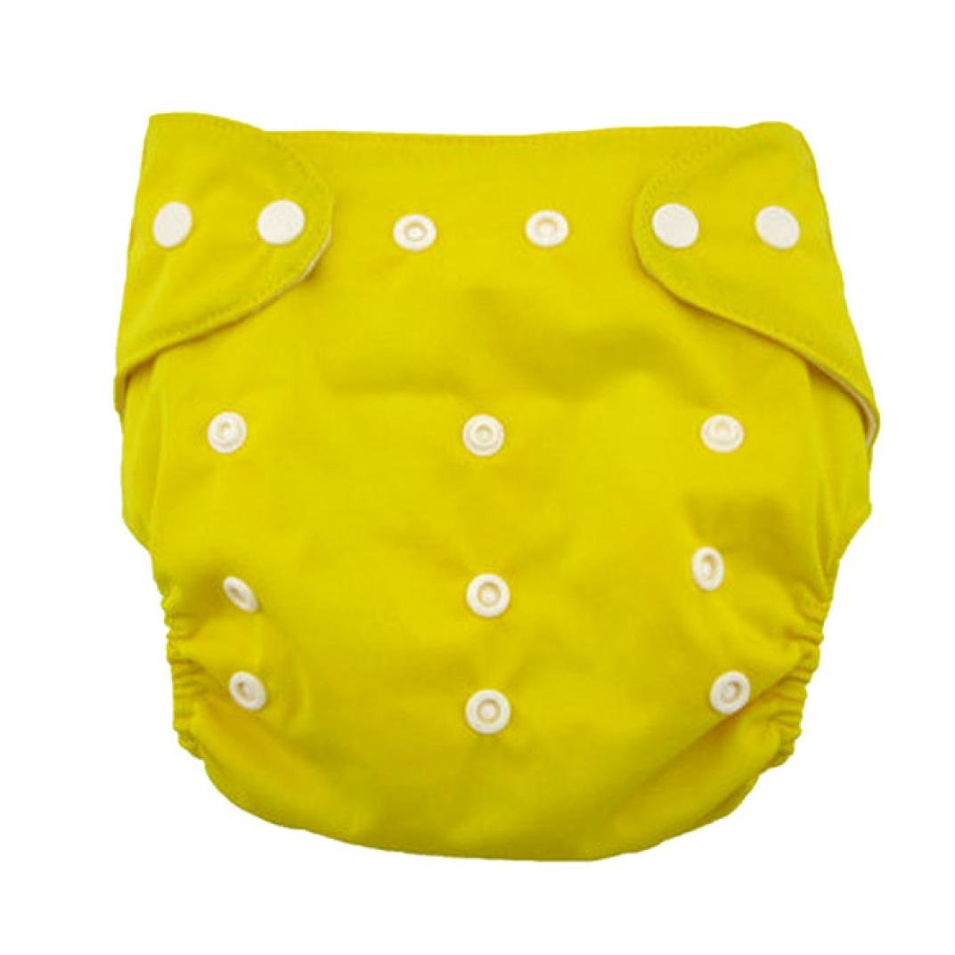 Koly/® Newborn Baby Cloth Diaper Adjustable Reusable Washable Nappy Non-Disposable Nappies Blue