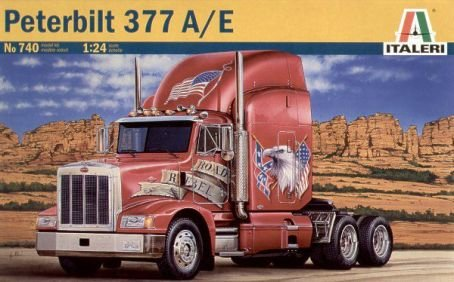 Peterbilt 377 A/E----Plastic Truck Model Kit by Italeri