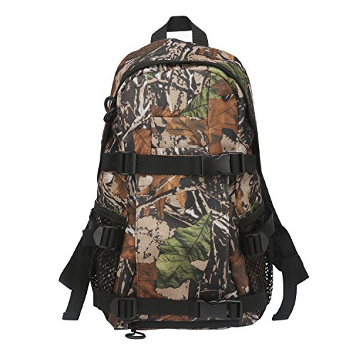 Tourbon Outdoor Day Pack Hunting Backpack with Rifle Holder - Camo