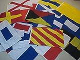 LARGE - Nautical Sailboat Boating Signal Code FLAG - Set of Total 26 flag - Nautical/Maritime/Marine/Boat/Ship/Vessel/Nautical Decor (5028)