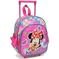 Yaygan Minnie Mouse Pembe Çekçek Anaokul Çantası