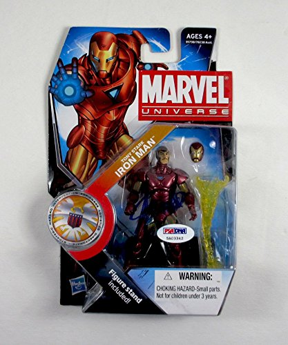 Stan Lee Signed Iron Man Action Figure Certified Authentic PSA/DNA COA