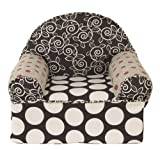 Cotton Tale Designs Baby's 1st Chair, Raspberry Dot