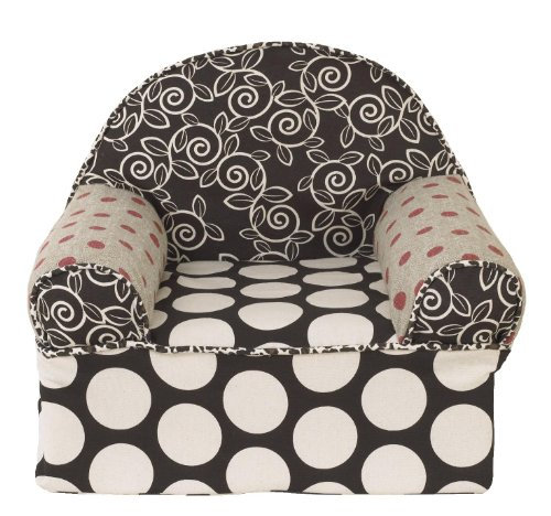 Cotton Tale Designs Baby's 1st Chair, Raspberry Dot by Cotton Tale Designs