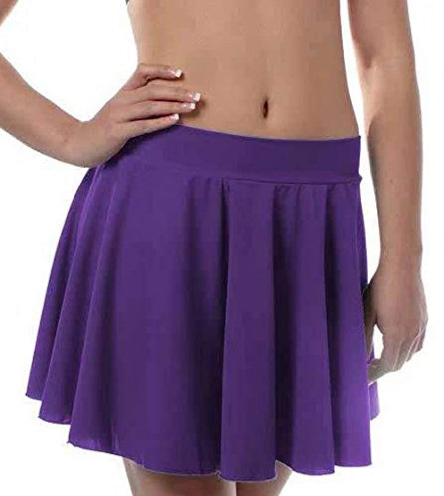 Girls Irish Dance Skirt X-Large Purple by B Dancewear Child Sizes by Bailar Dancewear