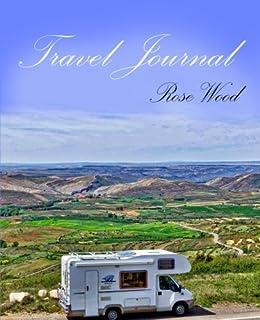 trip log book journal diary for caravans motorhomes camping and