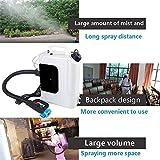 Kacsoo Electric Backpack Fogger, 10L Portable