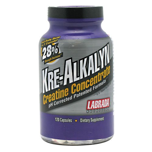 Kre Alkalyn, 120 capsules, Kre-Alkalyn, De Labrada