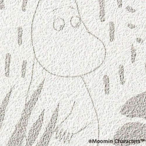 壁紙 のりなし クロス MOOMIN セレクション JQ3 【CC-FE6306】 サンゲツ 1m単位