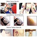 Henna Temporary Tattoo Stencil Kit