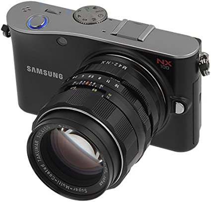 NOT EF-S Lens Canon EOS EF Lens Fotodiox Pro Lens Mount Adapter with Built-in De-Clicked Iris to Samsung NX Mount Mirrorless Camera Body