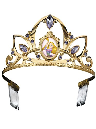 Rapunzel Deluxe Disney Princess Tangled Tiara, One Size Child -