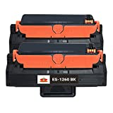 Empire Supplies 2 Pack Compatible B1260dn Toner Cartridge for Dell 331-7328 DRYXV RWXNT Toner Cartridge used with Dell B1260dn B1260dnf MFP B1265dfw B1265dnf Printers