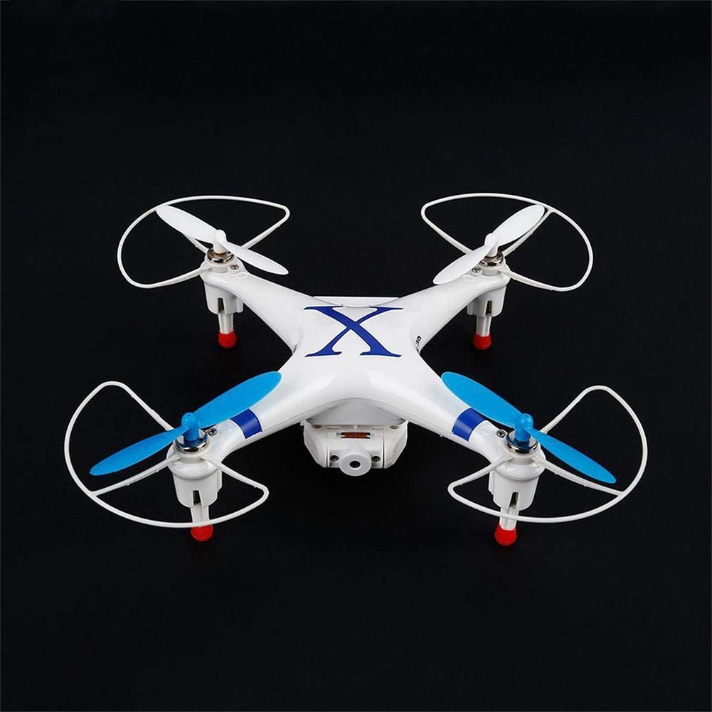 RC Quadcopter, 2,4 GHz Multi Speed Mini WiFi RC Drohne mit HD Kamera LED Licht Telefon Halter