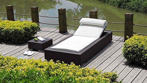 talfa polyrattan gartenm bel liege set smoop 2x braun jetzt bestellen. Black Bedroom Furniture Sets. Home Design Ideas
