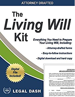 Amazon legal dash last will and testament forms with living will kit and medical power of attorney forms hard copies and digital downloads solutioingenieria Choice Image